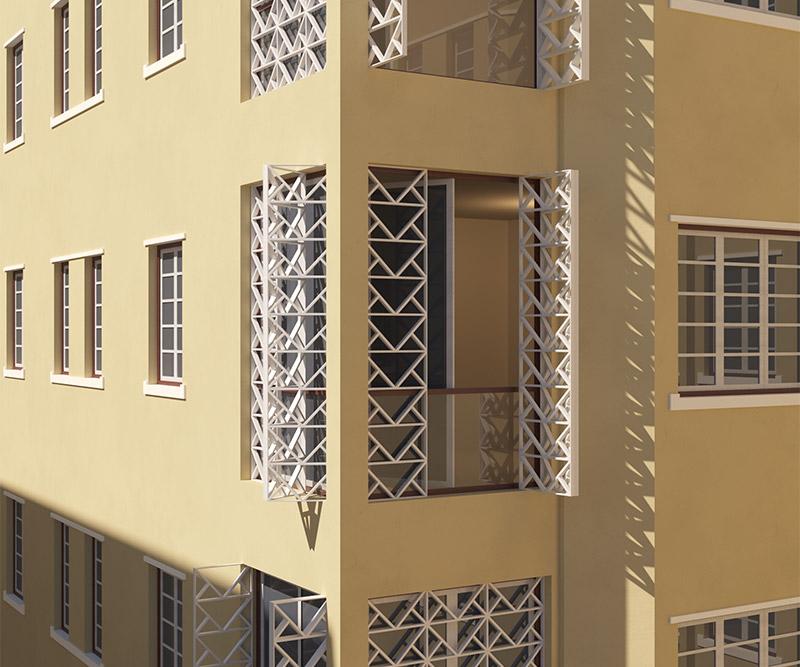 Avenida Augusto Aguiar 7 - detalhe